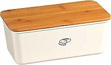 Kesper Brotbox mit Deckel aus Bambus in