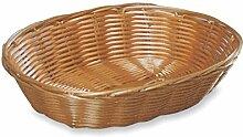 KESPER Brotkorb Kunststoffgeflecht Oval