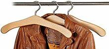 Kesper Kleiderbügel, Kunststoff, Grau, 3-teilig