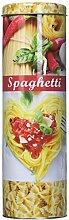 Kesper Spaghettidose, hohe Nudeldose, hohe Metalldose, aus Metall, Höhe: 270 mm, Durchmesser: 85 mm, sortier