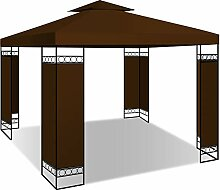 KESSER® - Pavillon 3x3m wasserabweisend UV-Schutz