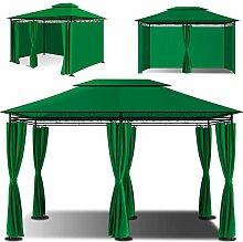 KESSER® - Pavillon 3x4m inkl. Seitenwände mit