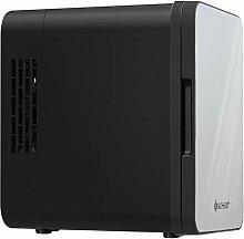 Kesser 2in1 Mini Kühlschrank 4 Liter Edelstahl  
