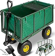 KESSER® Bollerwagen 550kg belastbar Gartenwagen
