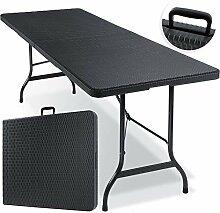 KESSER® Buffettisch Tisch klappbar Kunststoff