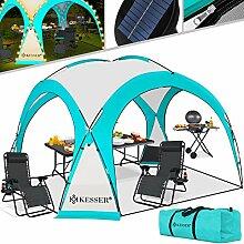 KESSER® LED Event Pavillon inkl. Solarmodul
