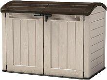 Keter Garten-Box, Universalbox, Mülltonnenbox,
