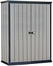 Keter Geräteschrank High Store, Grau, 1,5m³