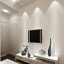 KeTian Dreidimensionale Tapete Backsteinmauer PVC