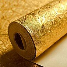 KeTian luxuriöse Tapete mit Goldfolie, modernes
