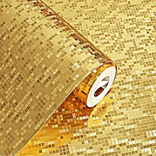 KeTian Premium-Tapete, dicke Goldfolie mit
