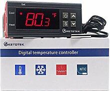 KETOTEK Digital Temperaturregler Thermometer