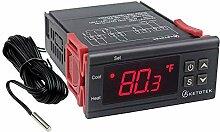 KETOTEK Temperaturregler LED Anzeige Thermometer