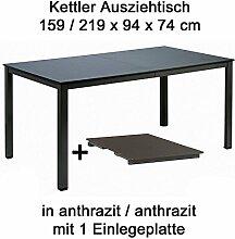 Kettler Ausziehtisch 159 bis 219 cm x 94 cm in