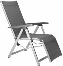 Kettler Basic Plus Advantage Relaxliege Aluminium