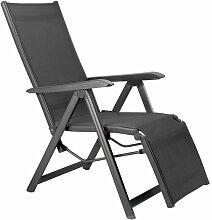 Kettler Basic Plus Relaxsessel Aluminium/Textilene