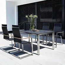 Kettler Sense/Cubic Gartenmöbelset 5-tlg. Tisch