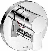 Keuco 54972070181 Plan Wannen und Dusch Armatur Unterputz, edelstahl-finish