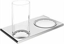 KEUCO Doppelhalter Edition 400 11556, Glas/