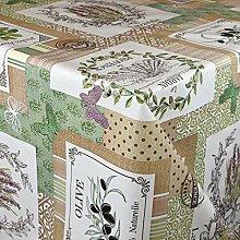 KEVKUS Wachstuch Tischdecke C141261 Oliven