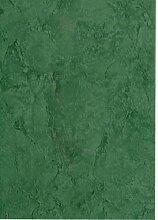 KEVKUS Wachstuch Tischdecke Rollenware 20 Meter Rolle x 140 cm Breite marmoriert grün 87-3