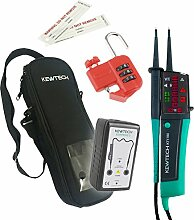 Kewtech kewis02Safe Isolation Kit, Grün/Schwarz, Set 4Stück
