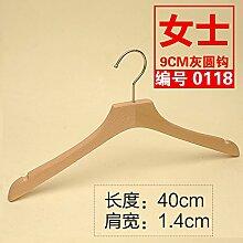 Kexinfan Kleiderbügel Farbe Frei Buche