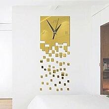 KF Wanduhr Aufkleber DIY abstrakte Acryl Spiegel
