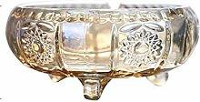 KFDQ Ascher, Gold, Glas European Style Couchtisch