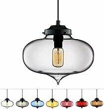 KFDQ Multicolor Glas Lampenschirm Lampe