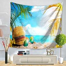 KFHSNJ Beach Tapisserie,Wandbehang,Für Tv