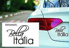 KFZ Aufkleber: 'Bella Italia' – Italien,