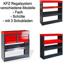 KFZ-Regalsystem / Einbauregal verschiedene