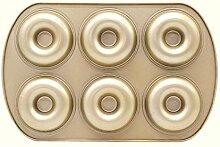 KGHONY Antihaft Gold 6 Even 12 Donut Backblech