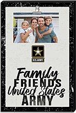 KH Sports Fan United States Army Bilderrahmen mit
