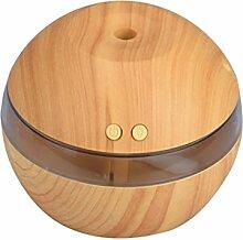 Khaki Luftbefeuchter, Bluestercool Air Aroma Essential Oil Diffuser LED Ultrasonic Aromatherapy Purifier
