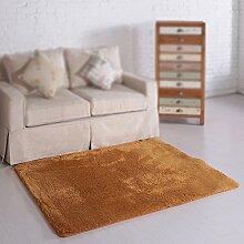 Khaki moderne Couchtisch Teppich / Wohnzimmer Sofa Matte / Schlafzimmer Nachttisch Teppich / Yoga Teppich / dicke Schutzmatte ( größe : 63*160cm )