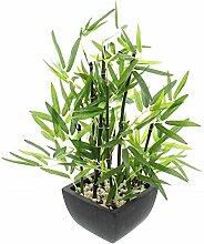 khevga Deko-Bambus Pflanze im Topf