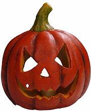 khevga Halloween Deko Kürbis Herbstdeko Windlicht