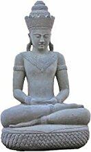 Khmer Buddha mit Cobra, ca. 130 cm Groß, Frostfes