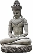 Khmer Buddha patiniert mit Cobra, ca. 130 cm Groß, Frostfes