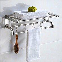 KHSKX 304 bad handtuchhalter, edelstahl - bad handtuchhalter, bad rack,40