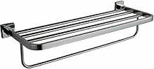KHSKX-304 Edelstählen Handtuchhalter, Edelstahl - Pole Double Bad Handtuchhalter, Bad Handtuchhalter