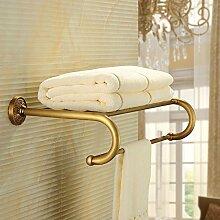 KHSKX Antike Kupfer Handtuchhalter Handtuchhalter Handtuchhalter Handtuchhalter bad accessoires badezimmer Handtuchhalter 620*270*125mm