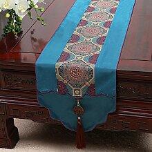 KHSKX chinesische jade gravey gartentisch flagge, tischdecken, kaffee, tischdecken, bett - flagge, kabinett flagge, tabelle matte, langen tisch tuch,c,mit 33 *