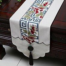 KHSKX chinesische jade gravey gartentisch flagge, tischdecken, kaffee, tischdecken, bett - flagge, kabinett flagge, tabelle matte, langen tisch tuch,b,mit 33 *