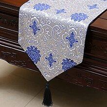 KHSKX chinesische pastoralen tabelle flagge, tischdecken, kaffee, tischdecken, bett - flagge, kabinett flagge, tabelle matte, langen tisch tuch,e,33 * 200