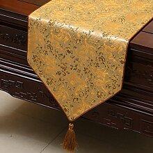 KHSKX chinesische pastoralen tabelle flagge, tischdecken, kaffee, tischdecken, bett - flagge, kabinett flagge, tabelle matte, langen tisch tuch,p,33 * 200