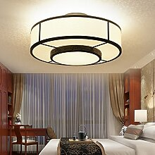 KHSKX Classic Style kreative Lampe Deckenleuchte rund um die Wohnzimmer Schlafzimmer Lampe 45cm