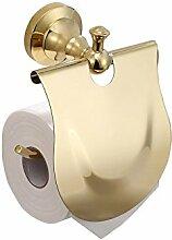 KHSKX Continental antik Kupfer solid bad accessoires bad Toilettenpapierhalter Toilettenpapierhalter